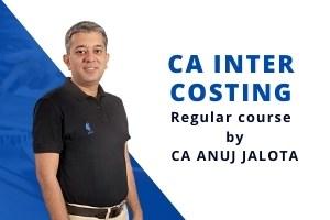 CA INTER – COSTING – 15 Edition – Regular Course