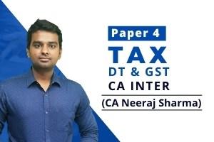 CA INTER – TAX – Nov 2021 attempt