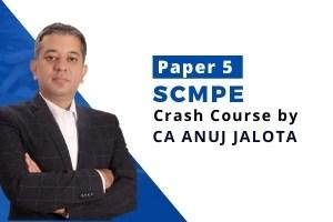 SCMPE Crash Course 4th Edition for CA Final