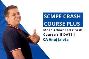 SCMPE – Crash Course PLUS – With RTP & Past papers