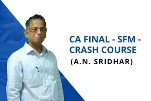SFM – Crash Course by A.N.Sridhar