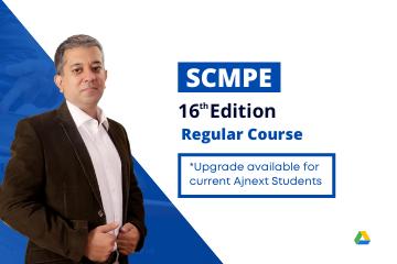 SCMPE – 16 Edition – Regular Course