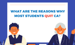 Why do most students fail in CA exams or quit CA